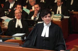 Photo of Adriel in court