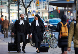 Photo of lawyers in robes