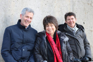 Photo of Peter, Nancy and Margaret